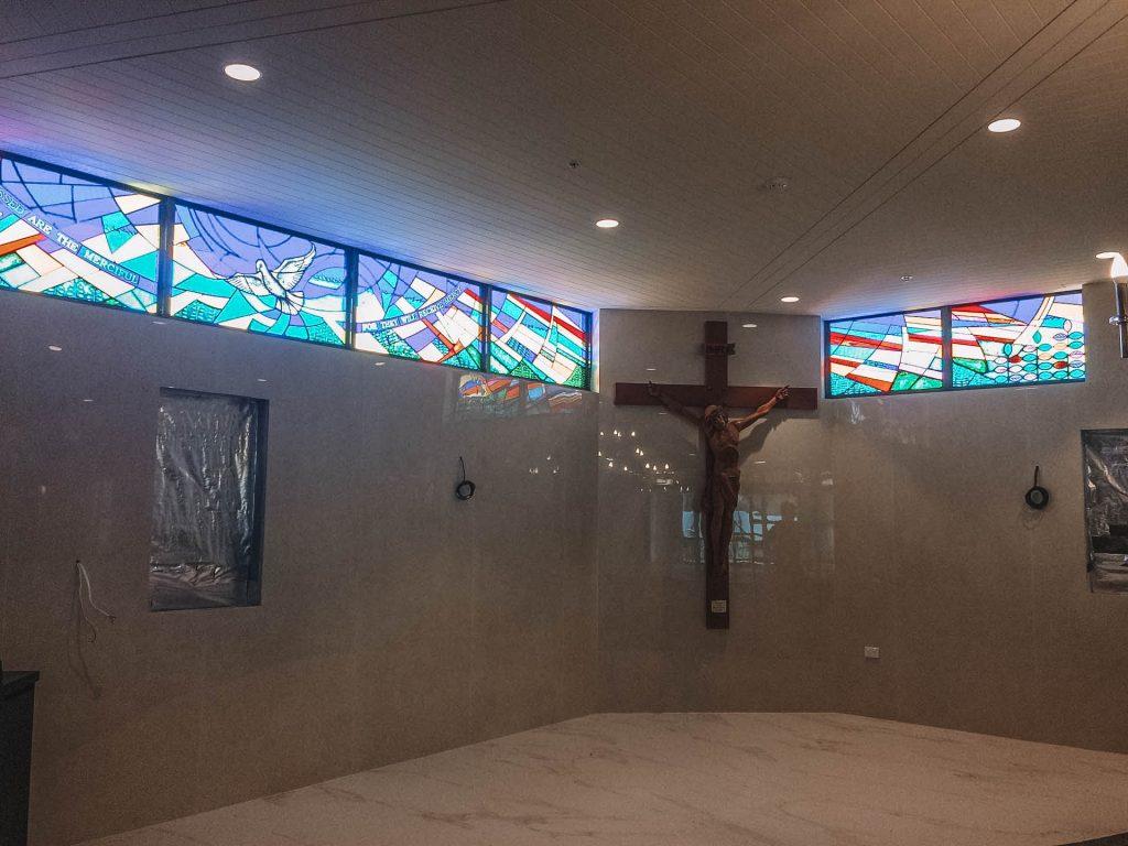 Waitara stained glass