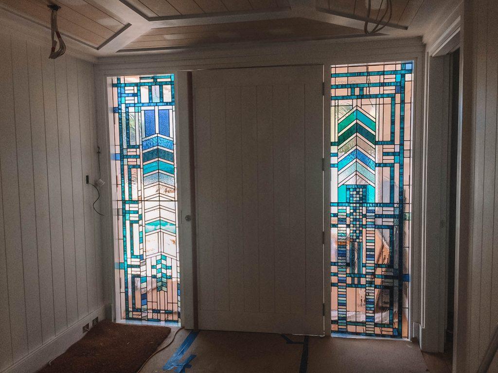 frank Lloyd Wright door panels